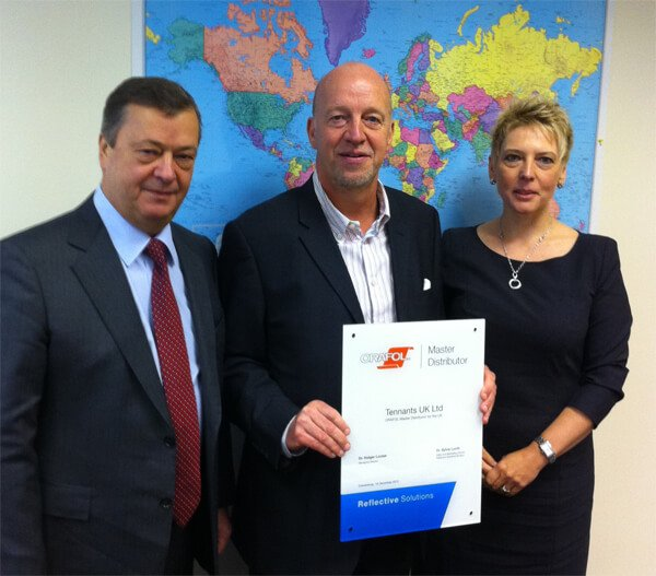 Tennants UK Receives Orafol Master Distributor Status