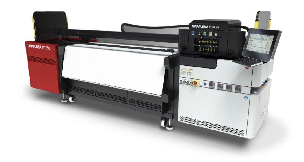 An AGFA Anapurna Reflective Printer