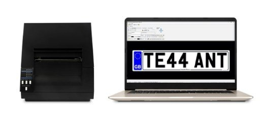 Prime Series Number Plate System