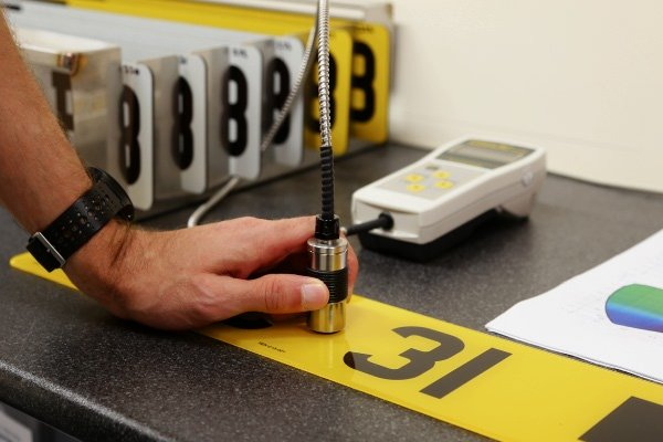Number Plate Production includes regular Testing