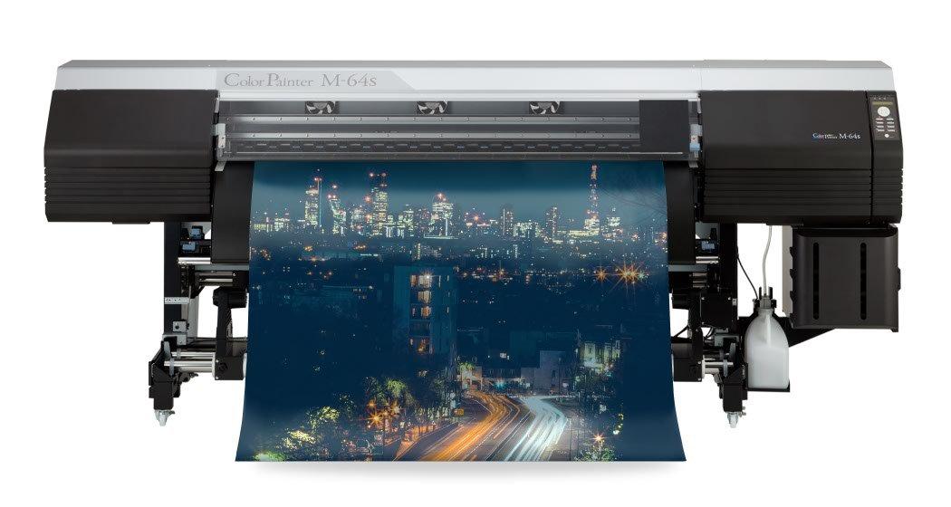 An OKI M64s Reflective Printer