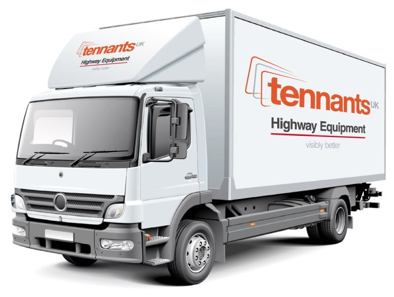 Tennants White Box Truck