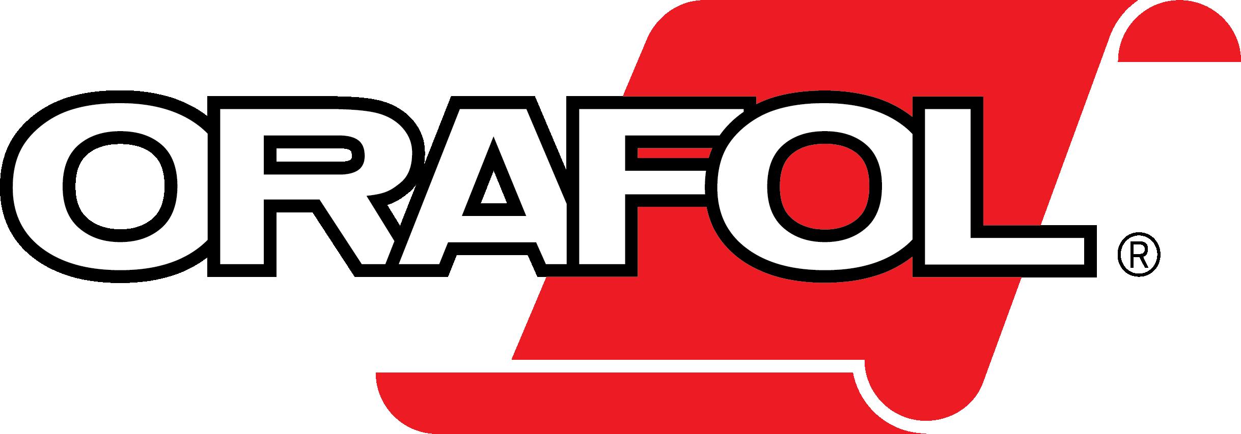 A large Orafol logo