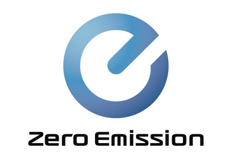 The Nissan zero emission logo