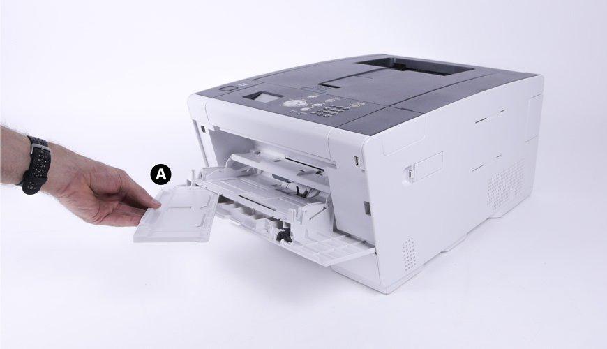 Remove OKI C532 paper tray