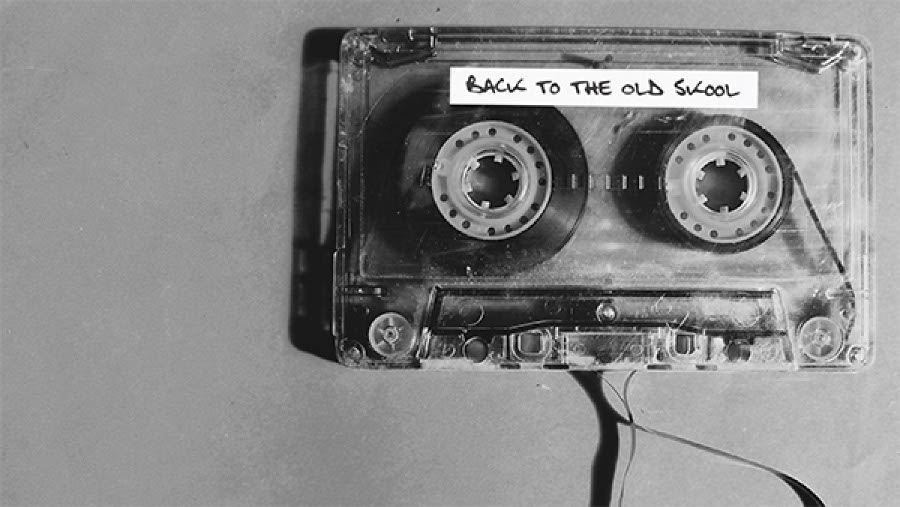 An old school mix tape