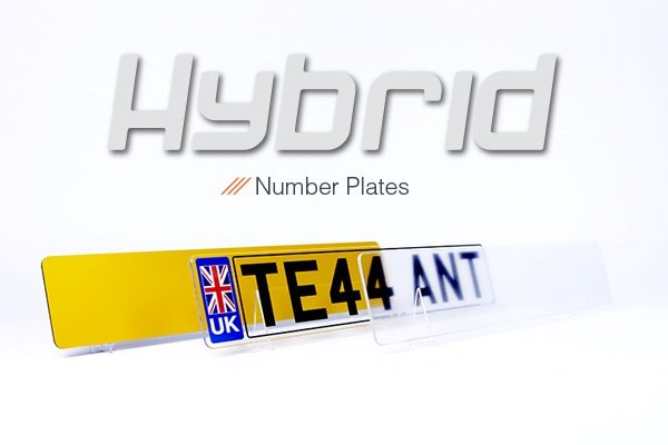 Hybrid Number Plates the New Age