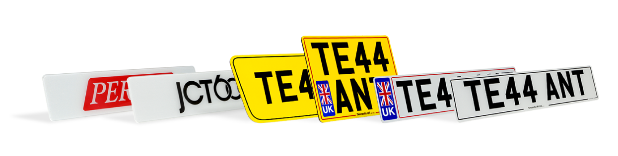 Professional number plates and signs