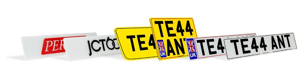 Professional number plates and vehicle signs