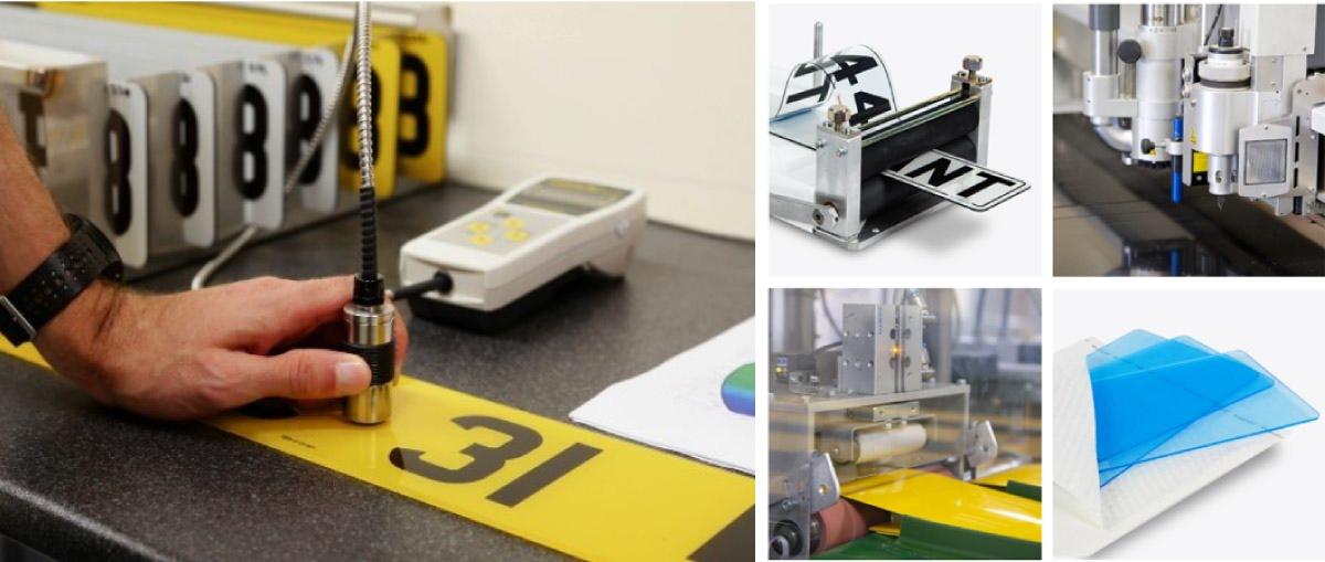 Tennants number plate production and testing