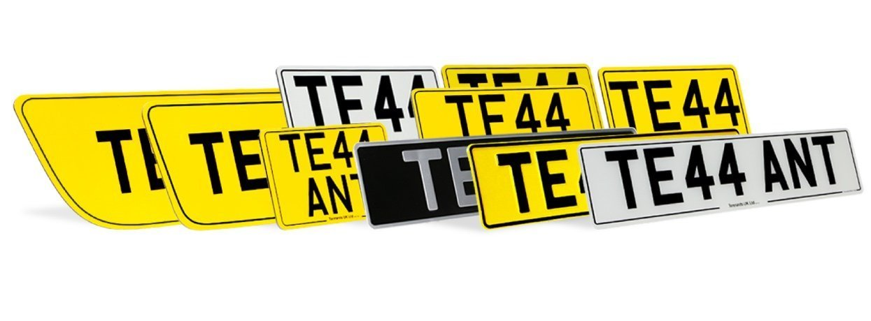 Trade Series makes number plate of various shapes and sizes