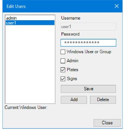 LG Plates - Edit A User