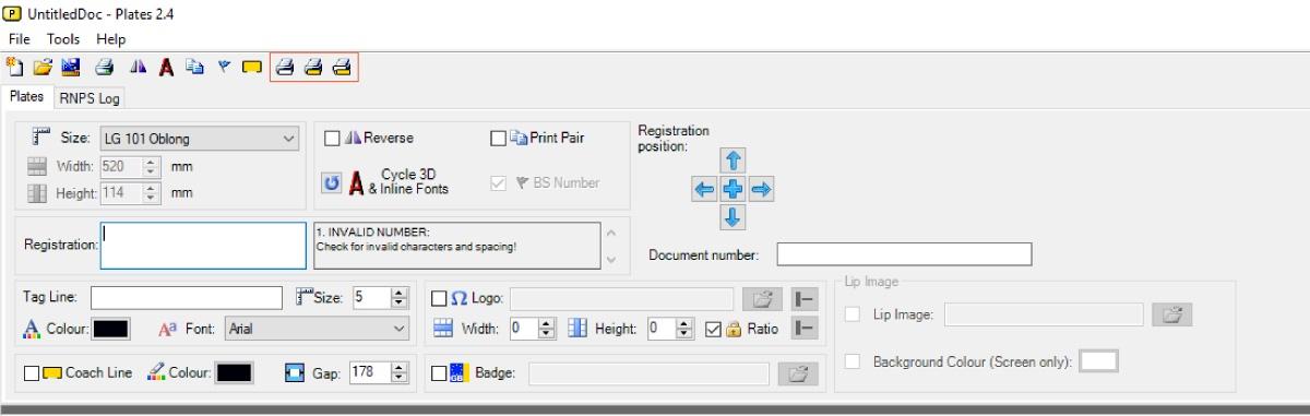 Using Dual Printers with LG Plates