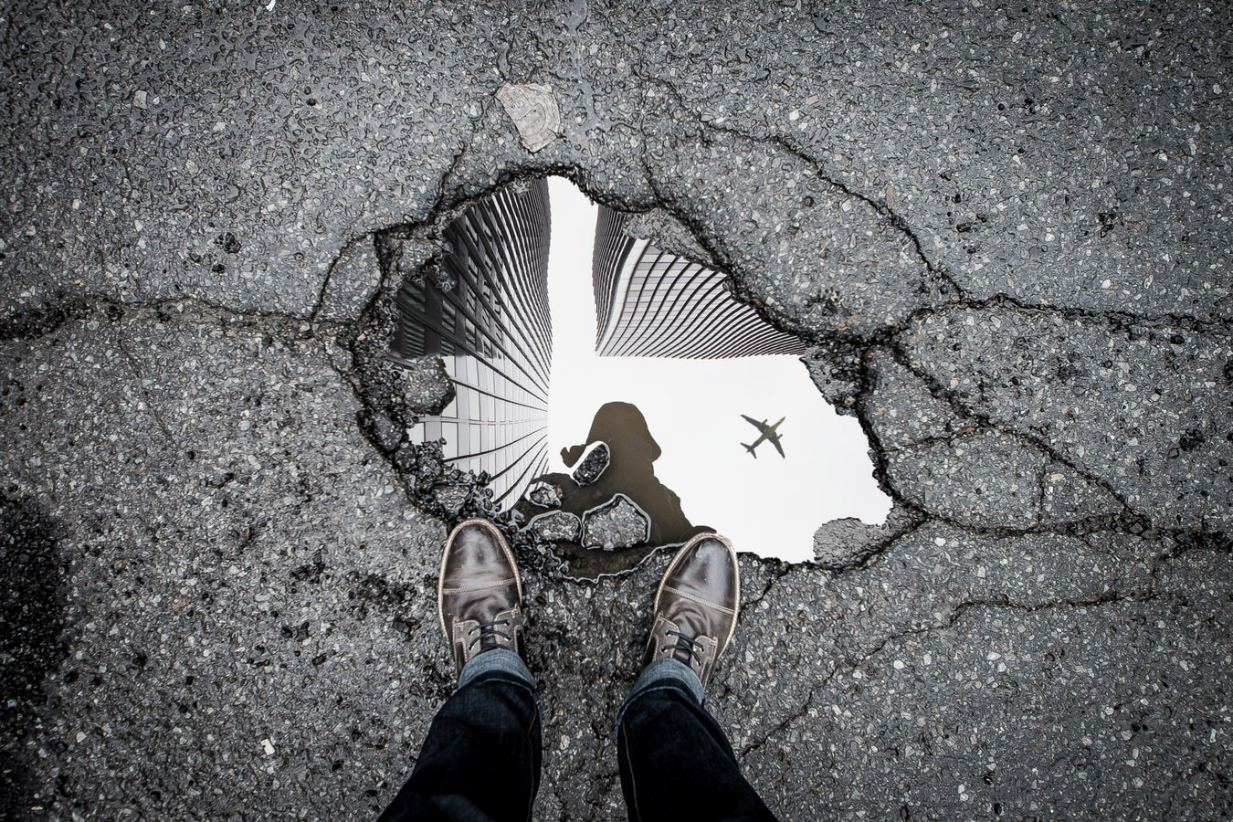 picture of a puddle