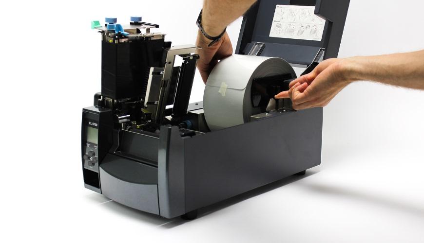 Install CLS700 Media Roll