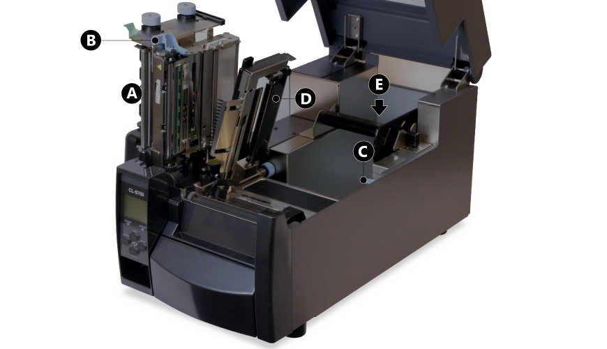 Lift CLS700 print unit and sensor arm