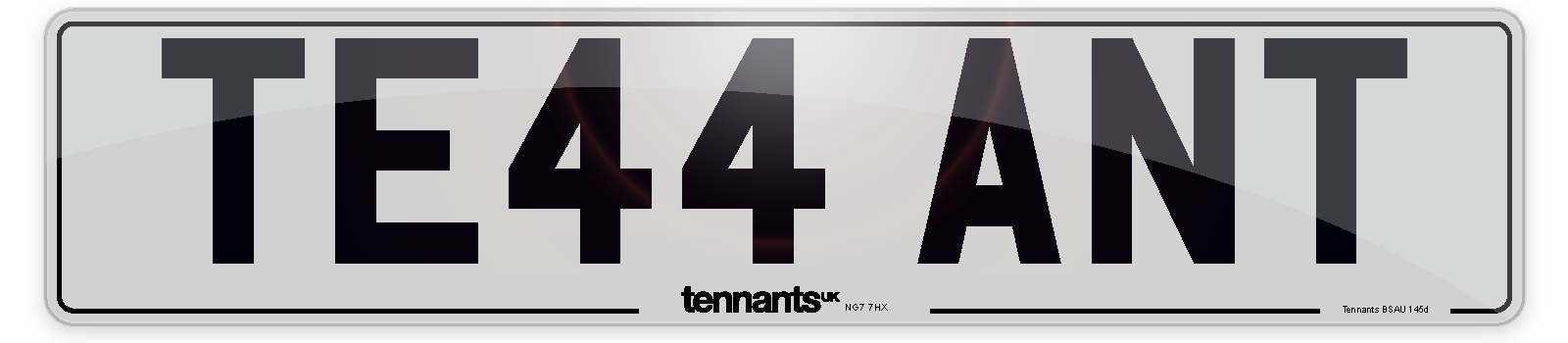 Our White Standard Number Plates