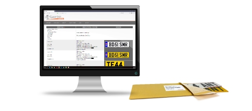 Our Made Up Plates service provides ready made number plates