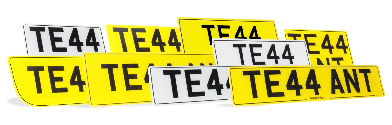 Simply great number plates