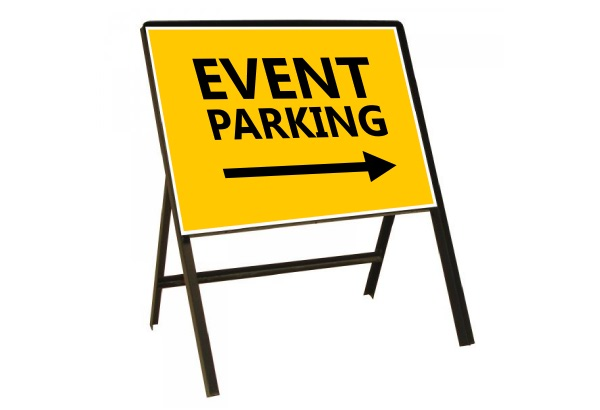 Temporary Event Signs
