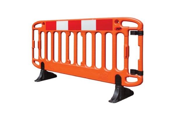 Temporary pedestrian barriers