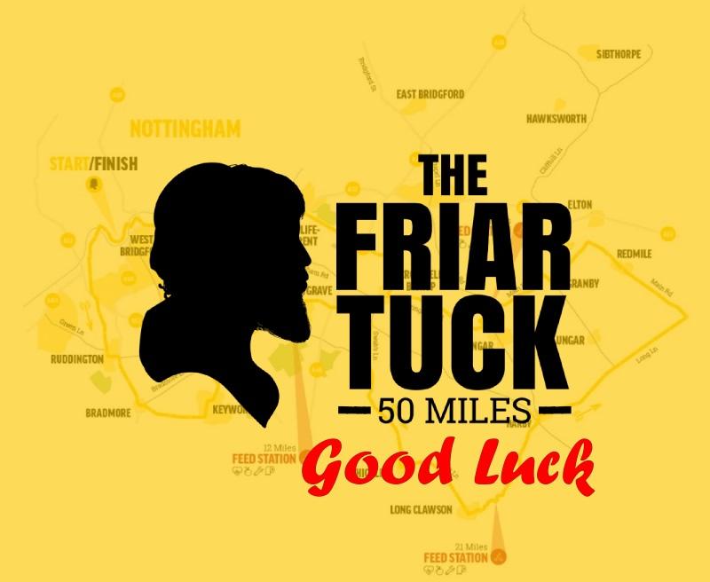 Friar Tuck Good Luck