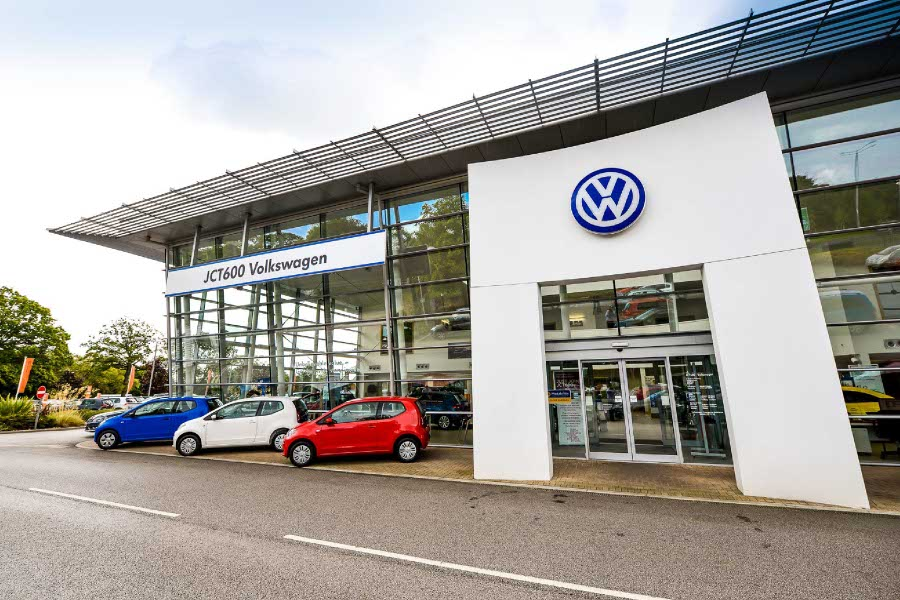 JCT600 VW Sheffield branch is now super charged