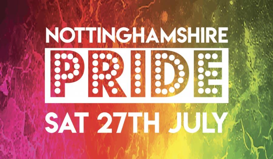 The Nottingham Pride logo
