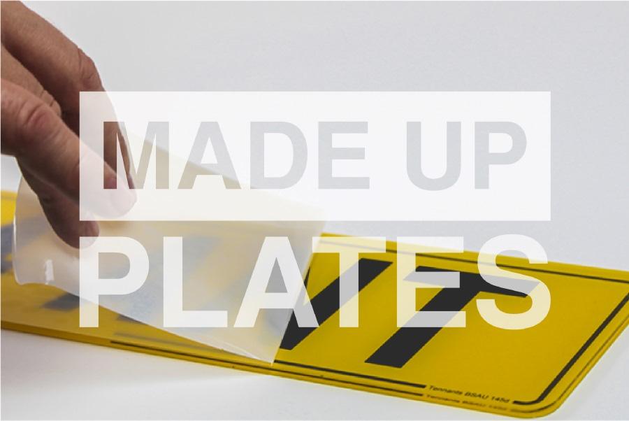Order Made Up Plates online