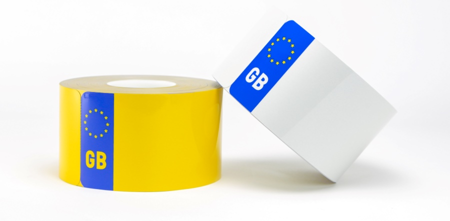 GB Euro Rolls for Number Plates