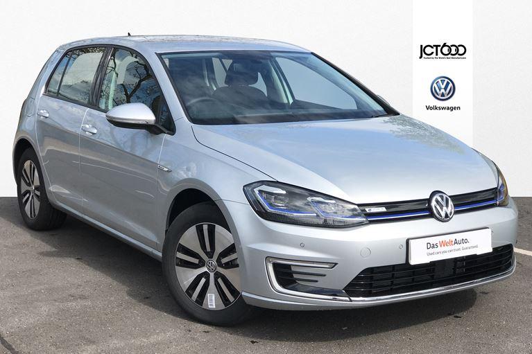A 2019 Volkswagen e-Golf