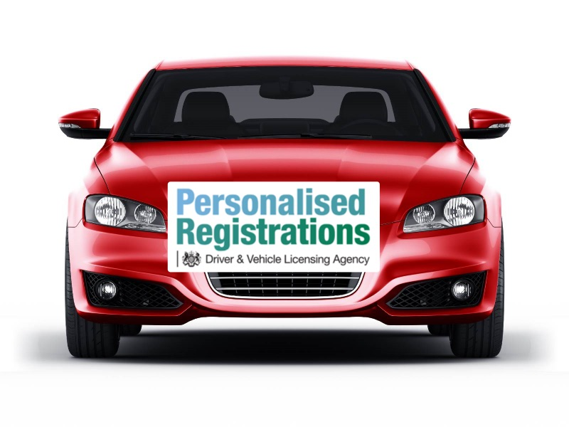 Number Plate personalisation at a price from the DVLA