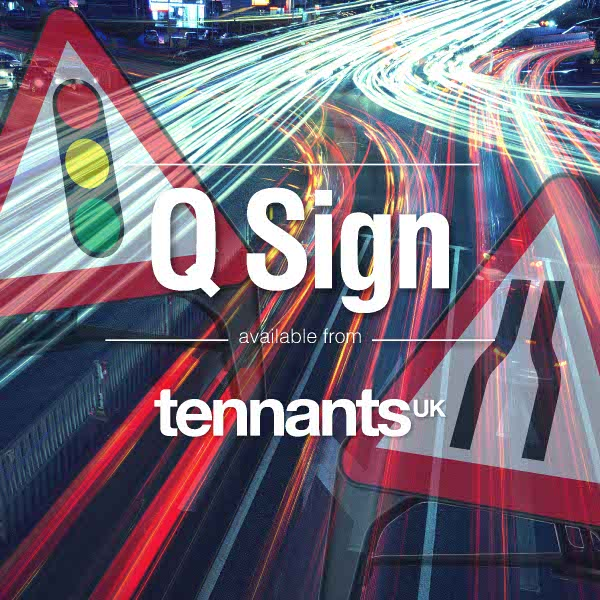 Tennants help you Save Quids on your Q-Signs