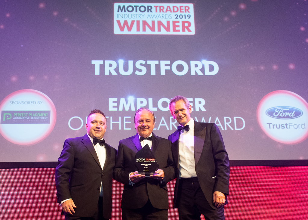 Trust Ford receives the employer of the year award