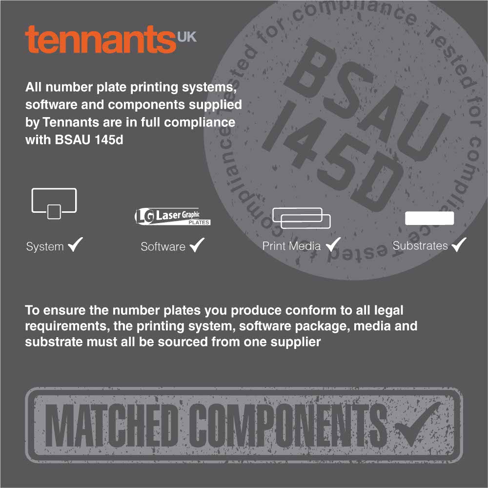 Trust Tennants for British Standards and Matched Components