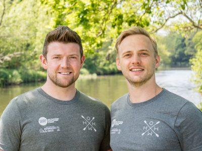 Chris and James, the HOHW team