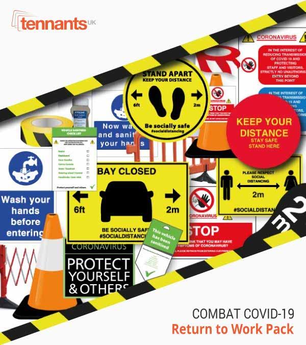 Tennants UK - Covid-19 return to work pack