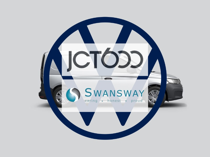 A Double Top of Volkswagen LCV Award Winners JCT600 and Swansway