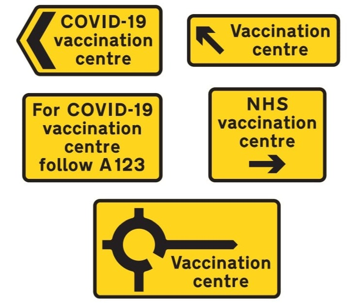 Home Stretch but we are helping with Covid-19 Traffic Signs