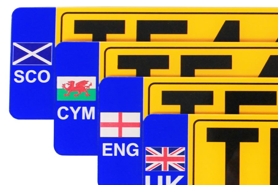 Pre-printed Number Plate Reflective Lead Times