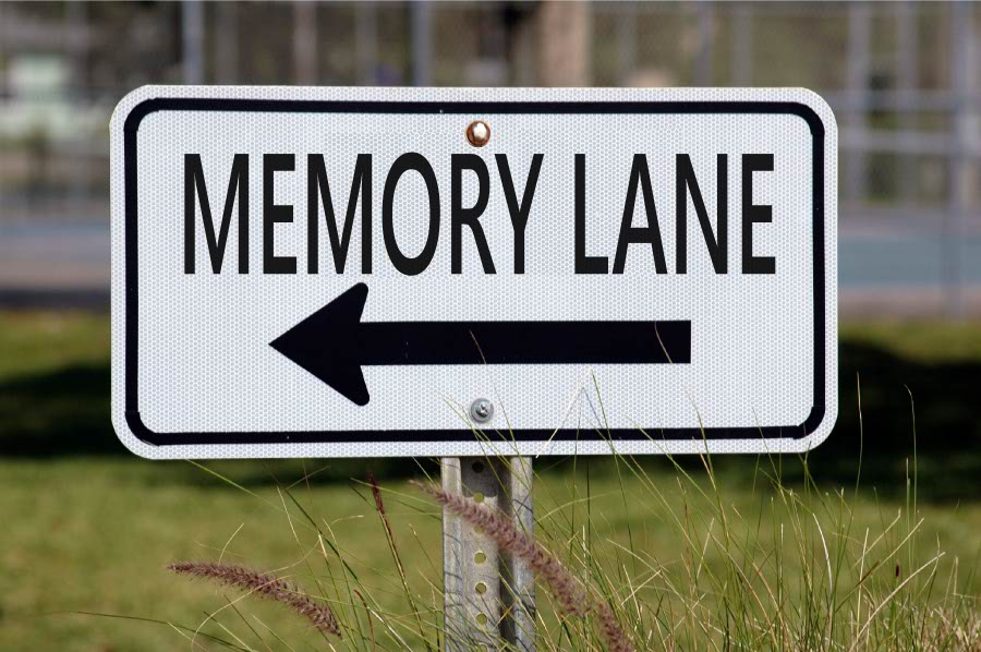 A Memory Lane Sign