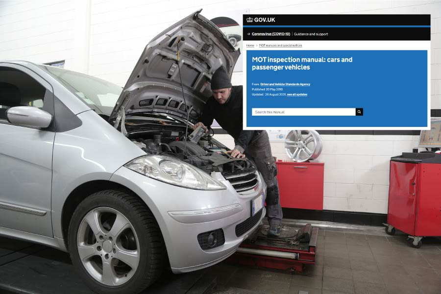 Your MOT inspection should now be AOK and fully up to date with legislation